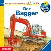 Der Bagger / Wieso? Weshalb? Warum? Junior Bd.38 (1 Audio-CD)