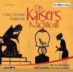 Des Kaisers Nachtigall, 1 Audio-CD - Andersen, Hans Christian