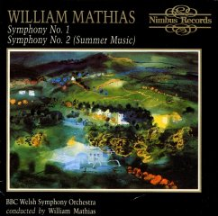 Sinfonien 1+2 - Mathias,William/Bbc Welsh Symphony Orchestra