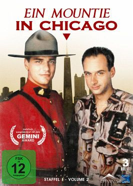 Ein Mountie in Chicago - Staffel 1, Vol. 2 (3 Discs)