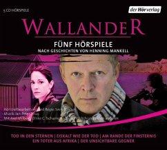 Fünf Wallander Hörspiele, 5 Audio-CDs - Mankell, Henning