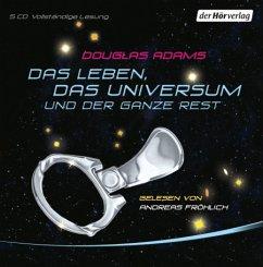 Das Leben, das Universum und der ganze Rest, 5 Audio-CDs - Adams, Douglas