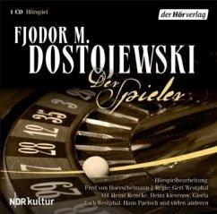 Der Spieler, 1 Audio-CD - Dostojewskij, Fjodor M.