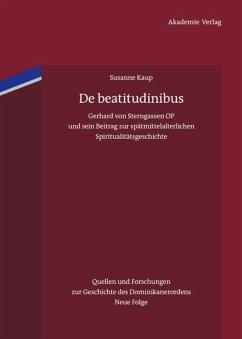 De beatitudinibus - Kaup, Susanne