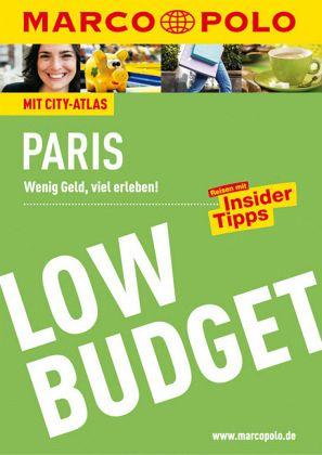 MARCO POLO Reiseführer LowBudget Paris - Pfister-Bläske, Waltraud; Arbogast, Anna-Johanna