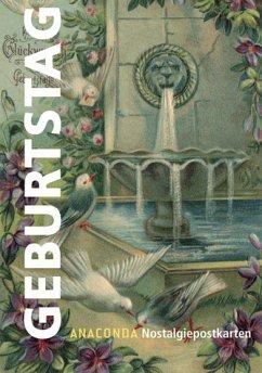 Nostalgie-Postkarten Geburtstag