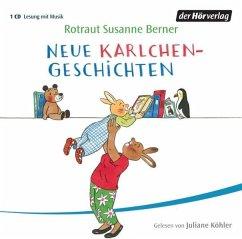 Neue Karlchen-Geschichten, 1 Audio-CD - Berner, Rotraut Susanne