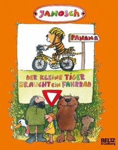 Der kleine Tiger braucht ein Fahrrad - Janosch