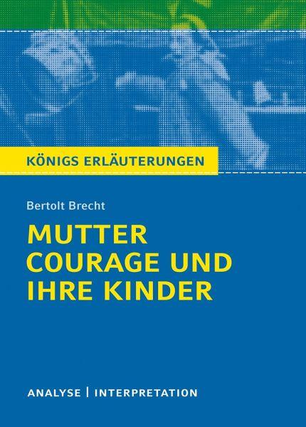 Mutter Courage Und Ihre Kinder Textanalyse Und Interpretation Von
