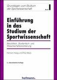 Einführung in das Studium der Sportwissenschaft