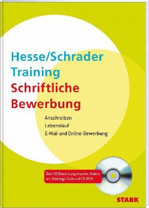 Training Schriftliche Bewerbung, m. CD-ROM - Hesse, Jürgen; Schrader, Hans-Christian