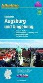 Bikeline Radkarte Augsburg und Umgebung