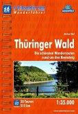 Hikeline Wanderführer Thüringer Wald 1 : 35 000