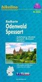 Bikeline Radkarte Odenwald, Spessart