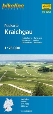 Bikeline Radkarte Kraichgau