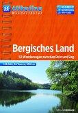 Hikeline Wanderführer Bergisches Land 1 : 35 000