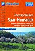 Hikeline Wanderführer Traumschleifen Saar-Hunsrück 1 : 50 000
