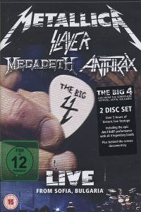 The Big Four: Live From Sofia Bulgaria - Metallica/Slayer/Megadeth/Anthrax