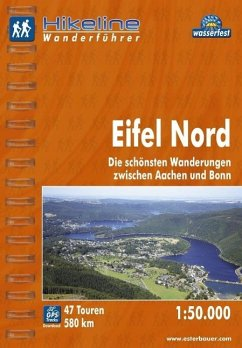 Hikeline Wanderführer Eifel Nord 1 : 50 000