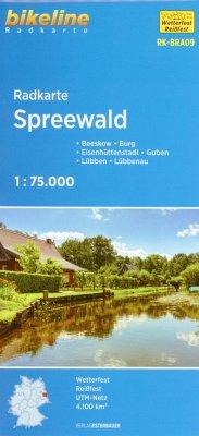 Bikeline Radkarte Spreewald