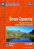 Hikeline Wanderführer Gran Canaria 1 : 35 000