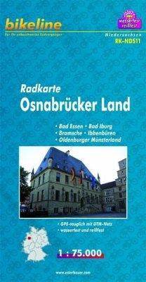 Bikeline Radkarte Osnabrücker Land