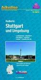 Bikeline Radkarte Stuttgart und Umgebung