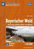 Hikeline Wanderführer Bayerischer Wald 1 : 50 000