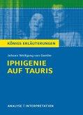 Iphigenie auf Tauris. Textanalyse und Interpretation