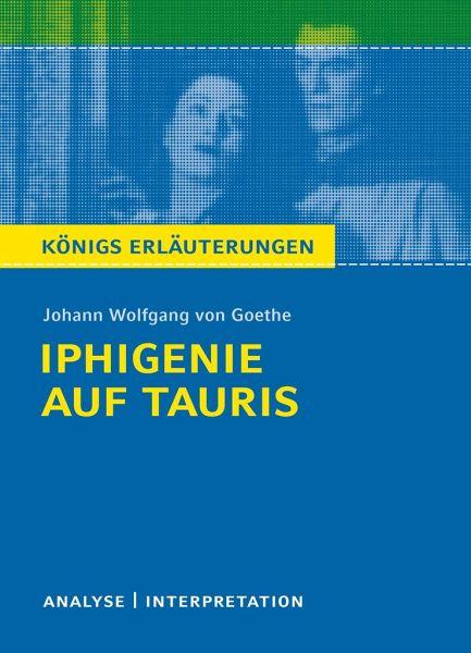 Iphigenie Auf Tauris Textanalyse Und Interpretation Von Johann