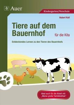 Tiere auf dem Bauernhof für die Kita