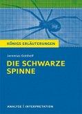Die schwarze Spinne. Textanalyse und Interpretation