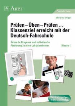 Prüfen - Üben - Prüfen ... Klassenziel erreicht mit der Deutsch-Fahrschule - Knipp, Martina