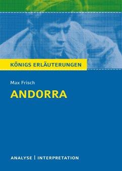 Andorra Textanalyse und Interpretation - Frisch, Max