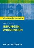 Irrungen, Wirrungen. Textanalyse und Interpretation