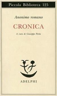 Cronica - Anonimo Romano