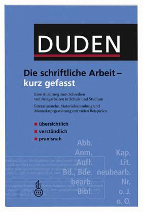 Die schriftliche Arbeit - Niederhauser, Jürg