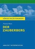 Der Zauberberg. Textanalyse und Interpretation