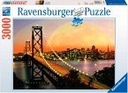 Ravensburger 17039 - San Francisco bei Nacht, 3000 Teile Puzzle