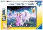 Ravensburger 13045 - Magisches Einhorn, 300 Teile Puzzle