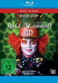 Alice im Wunderland (Blu-ray 3D + Blu-ray 2D)