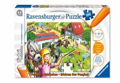 Ravensburger 00518 - tiptoi® Ponyhof-Puzzle