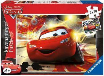 Ravensburger 09170 - Disney Cars: Großer Auftritt, 2 x 20 Teile Puzzle