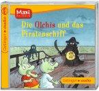 Die Olchis und das Piratenschiff / Die Olchis Bd.7 (1 Audio-CD)
