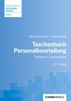 Taschenbuch Personalbeurteilung - Kiefer, Bernd-Uwe; Knebel, Heinz