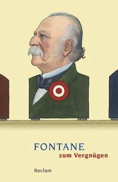 Fontane zum Vergnügen - Fontane, Theodor