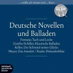 Deutsche Novellen und Balladen, Klassiker to go, 6 Audio-CDs