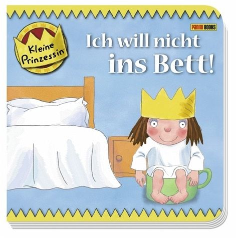 kleine prinzessin ich will nicht ins bett buch. Black Bedroom Furniture Sets. Home Design Ideas