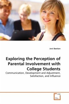 Exploring the Perception of Parental Involvement with College Students