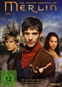 Merlin: Die neuen Abenteuer - Staffel 2.2 (Vol. 4) DVD-Box - Morgan,Colin/James,Bradley/Mcgrath,Katie